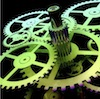 Illustrated image of gears